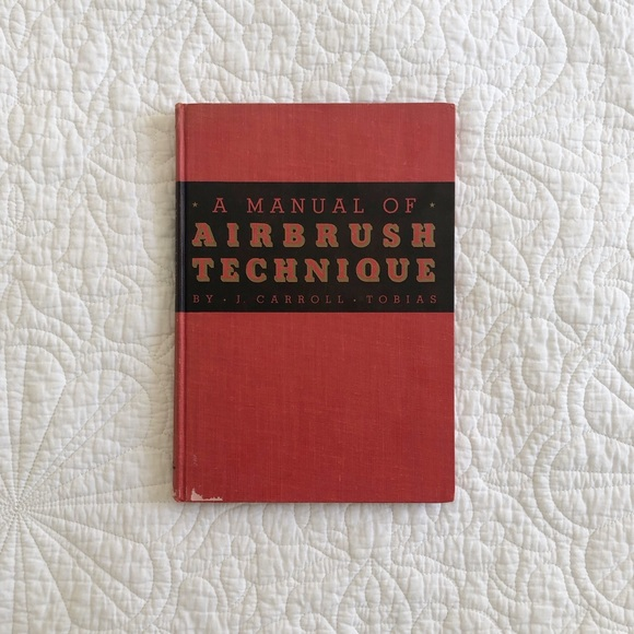 Vintage A Manual of Airbrush Technique Tobias 1941